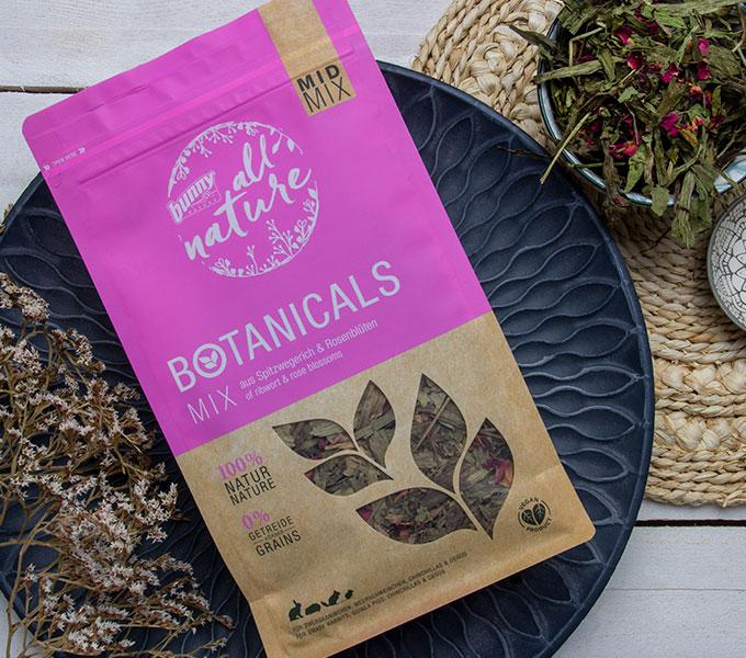 BOTANICALS MID MIX - Mix aus Spitzwegerich & Rosenblüten Cover