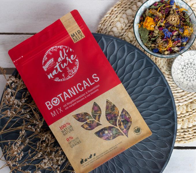 BOTANICALS MID MIX -  mit Ringelblumenblüten & Rosenblüten