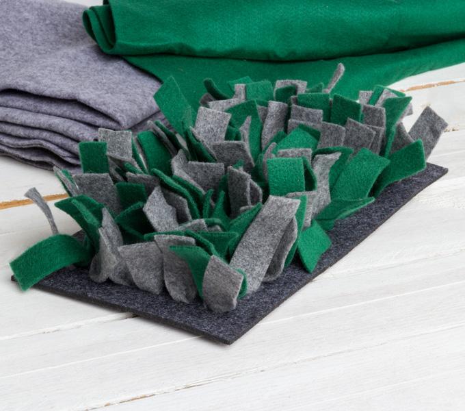 Schnüffelmatte Filz grün Cover