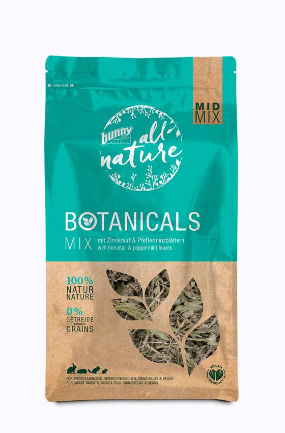BOTANICALS MID MIX - Mix mit Zinnkraut & Pfefferminzblättern Packung