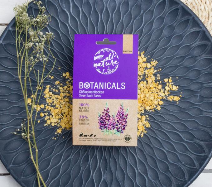 BOTANICALS Snacks - Süßlupinenflocken Cover