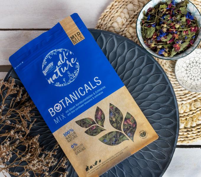 BOTANICALS MID MIX -  mit blauen Kornblumenblüten & Echinacea